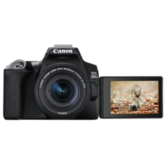 佳能(Canon)200d二代vlog相机 迷你单反相机照相机 佳能200dII单反数码相机 单机身 黑色  ZX.382