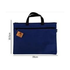 得力5840 手提袋 公文袋 蓝色 50个/包    BG.370
