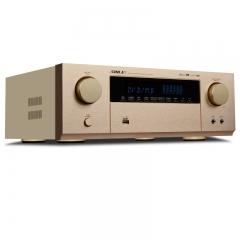 狮乐 AV-6612C 数码功率放大器5.1声道家庭影院 金色 IT.986