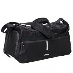 李宁(LI-NING)单肩斜挎包耐磨足球训练包运动健身装备包   黑色    TY.1317