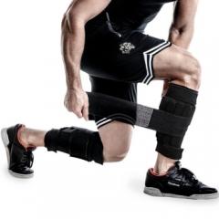沙袋绑腿负重绑腿铅块沙包沙绑腿腿部力量可调节隐形负重绑手 5kg沙袋绑腿/一对 可调节重量(送护腿)    TY.1329