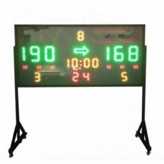 巧舒纺篮球24秒计时器篮球电子记分牌多功能无线遥控电子计分器     TY.1139