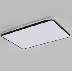 名宜(MINGYI)黑白配长方1200*800mm单色白光LED吸顶灯 JC.958
