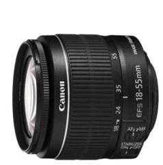 佳能(Canon) 标准变焦镜头 佳能 EF-S 18-55mm IS STM  ZX.387