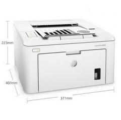 惠普(HP)LaserJet Pro M203d 黑白激光打印机 DY.372