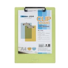 金隆兴(Glosen)A4记事写字板/板夹/票夹/菜单夹/签字板夹办公文件夹板 透明C1078    XH.742