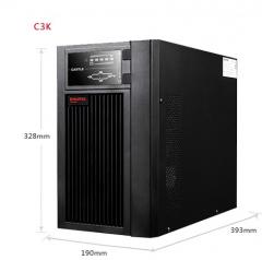 山特(SANTAK) 山特C3K ups不间断电源在线式稳压 3000VA/2400W服务器电脑机房 WL.534