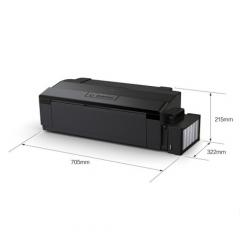 爱普生(EPSON) EPSON爱普生墨仓式L1800 A3+ 6色原装连供 黑色 DY.378
