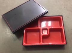 PVC分餐盘 食堂专用格子分餐盘 50个/箱 CF.125