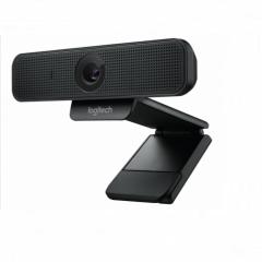 罗技(Logitech)C925e 高清会议室摄像头 主播摄像头 自动对焦 镜头关闭开关 保护隐私 1080P PJ.592