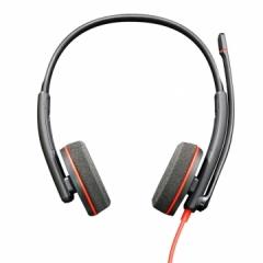 缤特力(Plantronics)C3220 USB-C双耳头戴式耳机耳麦/降噪麦克风    PJ.590