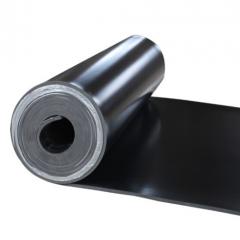 10kv高压橡胶板 配电室绝缘胶垫台垫桌垫 黑色工业胶皮耐油地胶皮  1米*5米*5mm      JC.988
