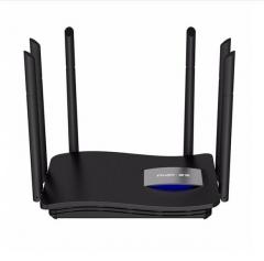 锐捷(Ruijie)无线路由器 千兆穿墙RG-EW1200G 双频wifi信号放大器1200M 黑色 WL.578