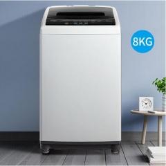 美的(Midea) 8公斤 大容量 波轮洗衣机 全自动 节能静音 MB80Q10 DQ.1506