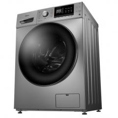 美的(Midea)滚筒洗衣机全自动 智能10公斤KG大容量BLDC变频静音 MG100-1451WDY 巴赫银色 DQ.1508
