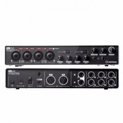 雅马哈录K歌音声卡UR44C乐队电脑手机直播套装 混音编曲音乐制作设备专业USB音频接口     IT.1066