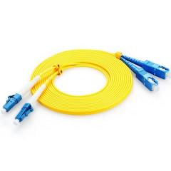 胜为(shengwei)电信级光纤跳线 SC-LC网线单模双芯 收发器尾纤 3米WL.603