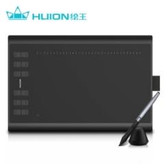 绘王H1060P 数位板 电脑绘图板绘画板 手写板电子画板 手绘板 8192级压感 28大快捷键 无源升级    PJ.618