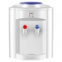 美的(Midea)饮水机台式机桌面迷你饮水器家用宿舍办公室用温热型 MYR720T     DQ.1533