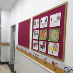 晶晶彩色软木板 教室展示板    TY.1156