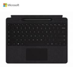 微软Pro X专用 带超薄触控笔 专业键盘盖 典雅黑 PJ.626