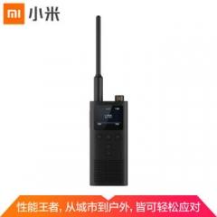 小米对讲机2 黑色 支持蓝牙耳机 超长待机 户外酒店自驾游民用手台    IT.1126