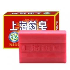 上海药皂 抑菌香皂 洗手沐浴皂90g    QJ.374