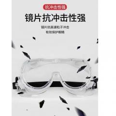 护目镜劳保防飞溅防风镜灰尘飞沫透明防雾防护眼镜打磨封闭式男女    JC.1036
