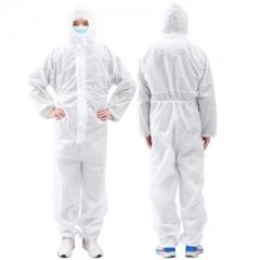 防护服一次性隔离衣连体带帽PP无纺布       JC.1051