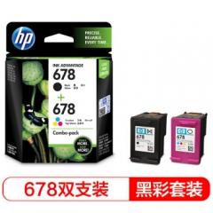 惠普(HP)L0S24AA 678黑色+678彩色套装 (适用HP Deskjet1018,2515,1518,4648,3515,2548,2648,3548,4518)    HC.1160