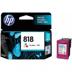 惠普(HP) 818墨盒适用D1668 2668 2568 5568 F4288 4488 2418 818墨盒彩色(约165页)     HC.1172