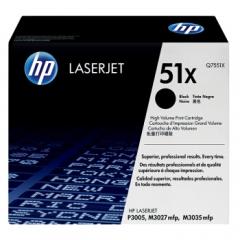 惠普(HP)Q7551X 高容量黑色硒鼓 51X (适用P3005/M3027mfp/M3035mfp机型) 约13000页     HC.1377