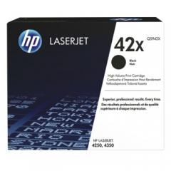 惠普(HP)Q5942X 高容量黑色硒鼓 42X (适用4250/4350机型) 约20000页    HC.1456