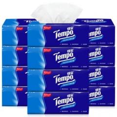 得宝(Tempo) 抽纸 4层90抽*(6+2)包 面巾纸餐巾纸巾 天然无香    QJ.418