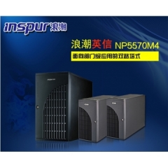 浪潮工作站NP5570M4(Intel_4208,32G, 4T*2,TX2080TI_11G,单电源, 原厂三年质保,硬盘免回收         WL.651