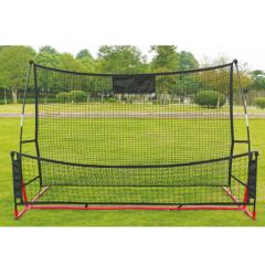 双面足球反弹网 便携式训练足球网    TY.1232