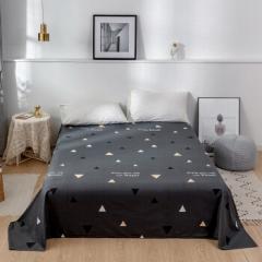 雅鹿·自由自在 床单 床单单件纯色活性印花亲肤被单单件 180*230cm 初昕     BC.091