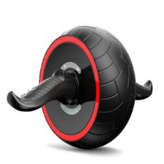翔威(XIANGWEI) 巨轮健腹轮 自动回弹静音腹肌轮 黑色XW001     TY.1247