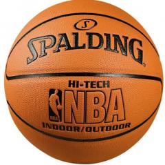 斯伯丁 74-600 NBA比赛掌控篮球 室内外比赛耐磨PU篮球      TY.1246