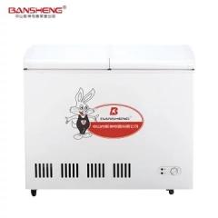 阪神(BANSHENG)BD/BC-238 家用商用单温转换冰柜 冷冻冷藏冷柜 双门顶开 节能静音    DQ.1614
