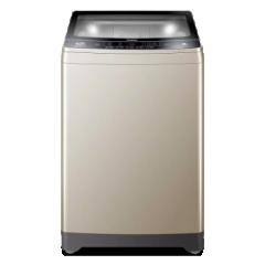 海尔/Haier 洗衣机 双动力 直驱变频 防缠绕 全自动 波轮洗衣机 静音 节能 省水 省电 10公斤金色双动力XQS100-BZ038     DQ.1615