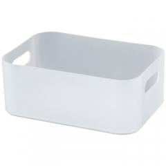 桌面首饰收纳盒 ⑤号22*15*8.5cm 塑料收纳箱整理箱零食化妆品储物盒内衣收纳盒     QJ.435
