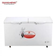 阪神 BC/BD-203D双温小冰柜 冷冻冷藏一机两用 家用商用小冰柜双温冷冻柜 DQ.1618