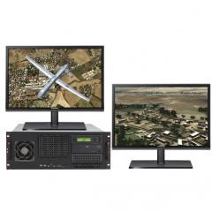 UltraLAB 海量GIS应用工作站 V380 15264-56TE /8核5.2GHz+64GB DDR4/RTX6000 24GB/512GBSSD+1TB M2SSD +56TB并行存储 WL.731