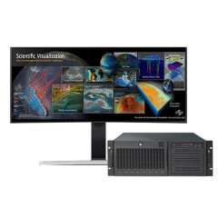 UltraLAB 科学数据可视化分析工作站 VR410 145128-SB4C /14核4.5GHz+128GB DDR4 /4*QM4000/512GB M2SSD +2TB SSD WL.730
