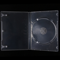 一碟红叶 可插封面 单面 透明光盘盒10个  PJ.694