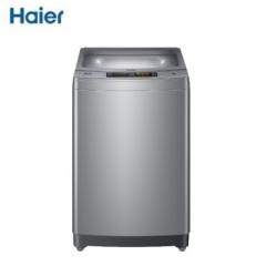 海尔(Haier)全自动洗衣机 波轮静音洗衣机 9公斤直驱防缠绕 XQB90-BZ158 DQ.1636