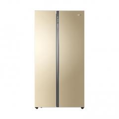 海尔 BCD-656WDPT 656升大容量变频风冷无霜对开门家用冰箱 金色 单位:台 DQ.1632