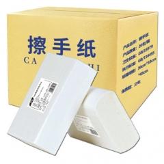 擦手纸 卫生间 抹手纸巾 吸水 20包/箱 QJ.444
