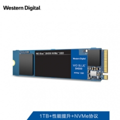 西部数据(Western Digital)1TB SSD固态硬盘 M.2接口(NVMe协议)WD Blue SN550 五年质保 四通道PCIe  PJ.697